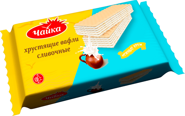 """CHAYKA"" WAFERS WITH CLOTTED CREAM"